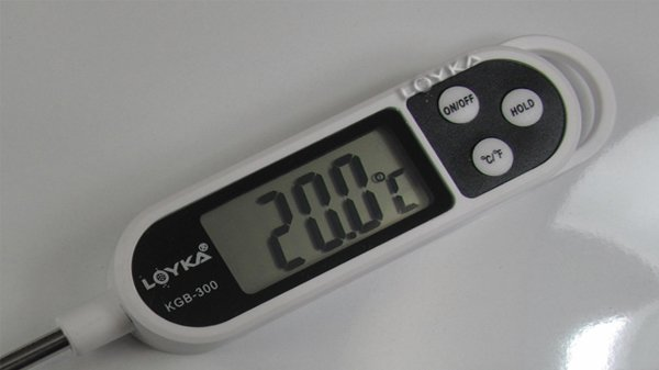 hassas prob ısı ölçer